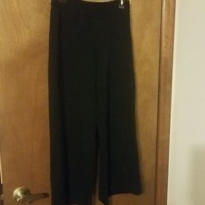 Alfani Black Glitter wide Leg Pants 4